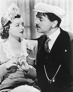 Myrna Loy and William Powell--Love, love, love The Thin Man Series. Doesn't belong on this board, but had to put it somewhere.