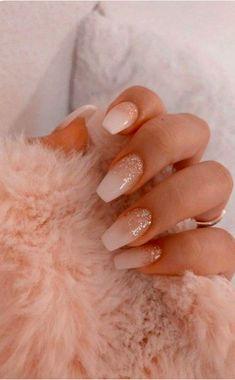 50 Glittering Acrylic Nail Designs for Long and Medium-Length Nails coffin nails, Long nails, nails, nails. Acrylic Nails Coffin Short, Simple Acrylic Nails, Best Acrylic Nails, Coffin Nails, Autumn Nails Acrylic, Acrylic Art, Nagellack Design, Nagellack Trends, Aycrlic Nails