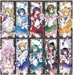Sailor Moon 10 Sailor Senshis Fan Art by Sailor Jupiter, Sailor Mars, Sailor Moon Manga, Sailor Neptune, Sailor Saturn, Sailor Venus, Sailor Moon Girls, Sailor Moon Fan Art, Sailor Moon Crystal