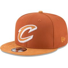 fa2ad77cdba Men s Cleveland Cavaliers New Era Orange Rust Tonal Choice 9FIFTY  Adjustable Hat