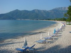 Golden beach Thassos island Greece Thasos, Greek Beauty, Greece Islands, Beach Scenes, Heartland, Greece Travel, Beautiful Islands, Where To Go, Strand