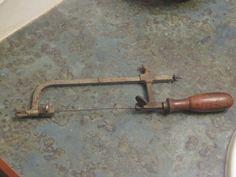 Antique Jeweler's Saw Wood Handle 1800 Era by LeftoverStuff