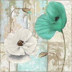 Beach Poppies IV by Mindy Sommers