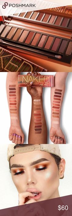 UD- Naked HEAT Palette!  Brand New and 100% authentic as always!!  LIMITED EDITION!!!  Alright guys - this is the new MUST have palette in the cosmetic world!!  Beyond PIGMENTED!!!! I have to say this palette blew me away!!  I knew it would be good but I didn't realize it would be this good! Gifts with Purchase!!  Bundle and SAVE!!  Trade value is $100 Urban Decay Makeup Eyeshadow