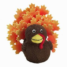 Bake and decorate a fun Thanksgiving centerpiece cake and your guests will Gobble It Up!