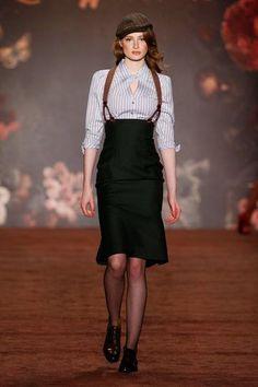Lena Hoschek, Berlin Fashion Week, Herbst-/Winter-Mode - New Ideas Look Vintage, Vintage Mode, Beauty And Fashion, High Fashion, Classy Fashion, Moda Fashion, Womens Fashion, 1920s Fashion Women, Estilo Tomboy