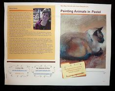 Painting my World: Introducing My First Pastel Lesson Download....How to Paint Animals