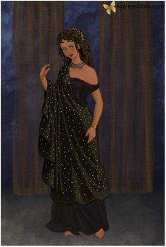Nyx, Goddess of Night by TFfan234