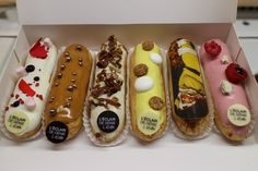 Forget macarons it's all about éclairs in Paris. Just opened by the pâtisserie chef Christophe Adam,L'éclair de Génieis offering a delicious selection of classic (chocolate, coffee, salted butter caramel…) filled éclairs aswell as some unusual flavours combinations like marshmallow or the limited edition Christmas one with little chocolate bursting candy that snaps, crackles and pops in your mouth. The only problem is you'll want to eat more than one!