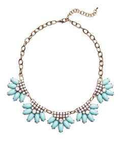 Bling Petal Necklace #shoplately