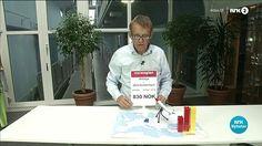 Professor og lege Hans Rosling forklarer med legoklosser hvor mange flyktninger som kommer til Europa eller nabolandene, fra krigsrammede Syria.