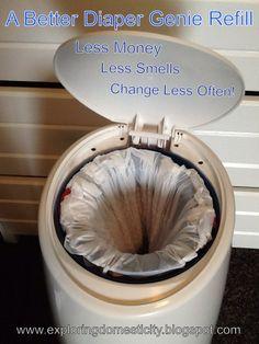 Exploring Domesticity: A Better Diaper Genie Refill update