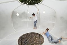 Cumulus, a space for calm, by Iranzo, Rittler and Kesting.