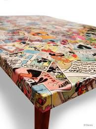 I custom make personalised decoupage children's chairs (other furniture soon to come.) They can be made from vintage comic books like Beano or Dandy for the boys or Vintage angels or fairies for the girls. Adult chairs can be Financial Times pink or old copies of Smash Hits or your favourite teenage read. What ever you fancy I can source and make for you. Some people like music scores or old dictionaries!! http://www.etsy.com/listing/91888760/custom-made-decoupage-childrens-chair