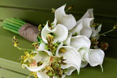 White Cala Lily Bouquet by Crafts Direct
