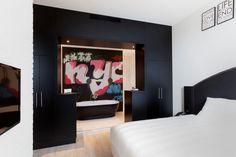 New York suite in hotel van der Valk Nieuwerkerk.