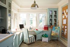 30 Ideas for Your Crafts Room, Home Office, or Workroom » Talk of ...