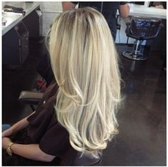 vanilla blonde highlights - if I ever go blonde, I want this.