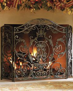 Whether the fire is lit or not, the head-turning Avignon Fireplace Screen makes your fireplace truly stand out.