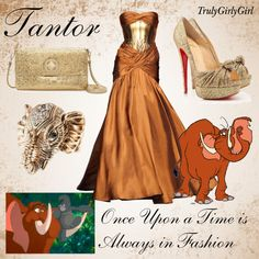 Disney Style: Tantor, created by trulygirlygirl on Polyvore