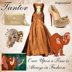 Disney Style: Tantor, created by trulygirlygirl on Polyvore