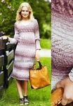 Мобильный LiveInternet Меланжевое платье спицами   -MALEFISENTA- - MALEFISENTA  