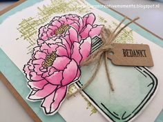 You've got this & Jar of Love, Stampin' Up! - a thank you card