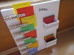 Vor ein paar Wochen bin ich bei Anja (Schnittlieschen) über eine tolle Idee gestolpert – ein Menu Board, um den Wocheneinkauf und die Menüliste zu organisieren. Ich habe eine kleine Leinwand …