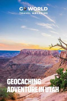 Follow this unusual geocaching adventure through some of the most dramatic landscapes in the American Southwest  #adventure #travel #utah #geocaching #adventuretravel #travelstories