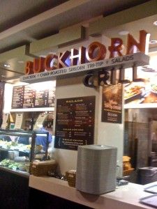 Buckhorn Grill in the Westfield mall in San Francisco! I ate here 3 times on our trip!