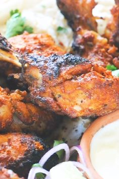 Were you looking for instant pot appetiser recipe? Make this Famous Indian Roast Chicken aka Instant Pot Tandoori Chicken in your instant pot in a jiffy! - This is a super easy Indian Ins Tandoori Chicken Recipe Indian, Tandoori Recipes, Indian Chicken, Indian Food Recipes, Asian Recipes, Vegetarian Recipes, Cooking Recipes, Game Recipes, Chicken Drumstick Recipes
