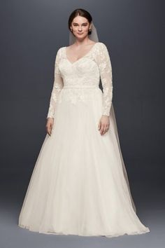 My New Favorite! www.davidsbridal.com/10756569