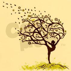 New life tree tattoo woman awesome 37 Ideas Yoga Tattoos, Body Art Tattoos, Tattoo Life, Art Sketches, Art Drawings, Yoga Kunst, Celtic Tree, Symbolic Tattoos, Tree Art