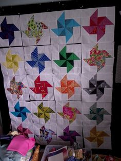 Little Island Quilting: Half square triangle quilt