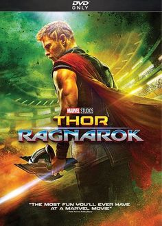 Marvel answered two of the biggest questions about Thor: Ragnarok with this one little trailer. Thor: Ragnarok is the the third film in Marvel's Thor series; a direct sequel to Thor: Dark Wo… Thor Ragnarok Movie, Thor Ragnarok 2017, Dc Movies, Movies Online, Watch Movies, Movies Free, Art Online, Chris Hemsworth Thor, Poster Superman