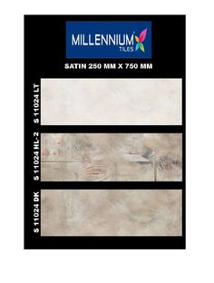 S_11024_HL2 - Millennium #Tiles 250x750mm (10x30) Digital Ceramic Satin Large Format #WallTiles - S_11024_LT  - S_11024_HL2  - S_11024_DK  Direct Import from India. Award winning, ISO & CE certified, Tiles Manufacturer, large production capacities, wide wall & floor tiles range, excellent wholesale prices. Export to Distributors/Retailers in Australia, Europe & North America. Prices in US $/m2 in 20' containers on wooden palettes.