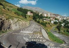 Alpe d'huez, nearly there !