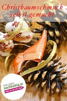 Gerade in der Adventzeit kann das gemeinsame Basteln auch ein Stück weit zur Entschleunigung und Entspannung von der Hektik des Alltags beitragen. Zudem können Sie sich auf die schönen, gelungenen Ergebnisse freuen. Christmas Tree Decorations, Sustainability, Crafting
