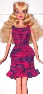 Barbie Basics,  link naar een pdf met heel veel patroontjes...