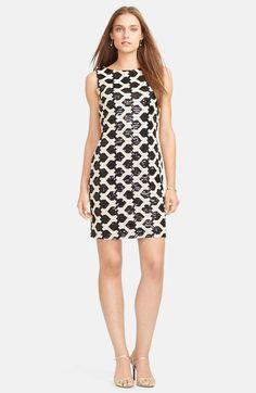 Lauren Ralph Lauren Sleeveless Sequin Sheath Dress available at #Nordstrom