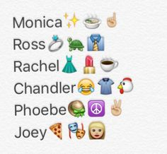 F.R.I.E.N.D.S personalities
