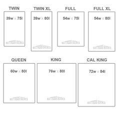 Sizes king twin williston mattress soka mattress co mattress
