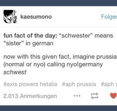 Germany, Prussia, Axis Powers Hetalia, Nyo!talia