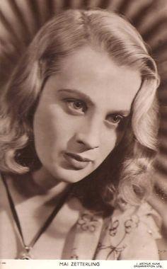 Actress, Mai Zetterling