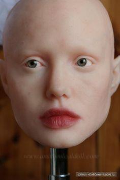 Новая работа, лицо девушки, авторская работа, силикон / Авторские куклы своими руками, ООАК / Бэйбики. Куклы фото. Одежда для кукол