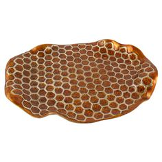 Gorgeous Honey comb tray by Quest. www.baylasboutique.com