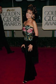 Thalia en Golden Globe Awards 1999
