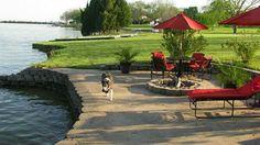 wall idea more outdoor ideas backyard ideas lakeside landscaping lake