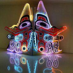 Blair Thurman neon sculpture. Gagosian Gallery - NYC