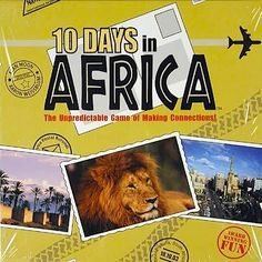 10 Days in Africa Geography Game- Kid World Citizen                                                                                                                                                                                 More